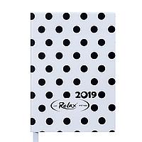 Щоденник датований BUROMAX А6 RELAX 2534-12 білий