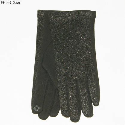 Оптом женские трикотажные перчатки для сенсорных телефонов - №18-1-46, фото 3