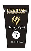 Poly Gel BELEON  №1 Clear