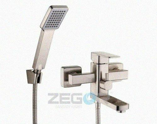 Zegor Смеситель для ванны Zegor LEB-3-A-H Нержавейка(Короткий), фото 2