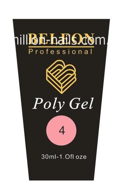 Poly Gel BELEON  №4, фото 1