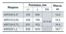 """Насос скважинный """"Насосы+Оборудование"""" 4SP 209-0,37, фото 3"""