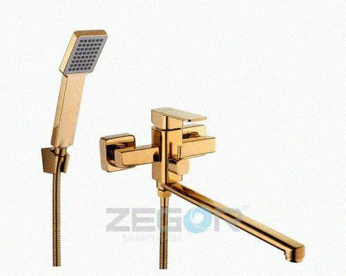 Zegor Смеситель для ванны LEB7-A-G Золотистый, фото 2