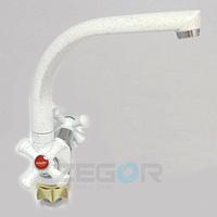 Смеситель для кухни Zegor DTZ4-D-W (TLD-W)