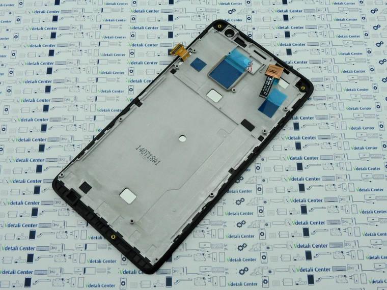 Lenovo S856 модуль дисплея Silver с рамкой в сборе 5D69A6N1V2 Оригинал, фото 2