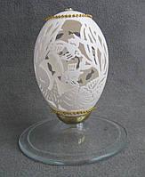 Карвинг по яичной скарлупе Аквариум