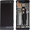 Дисплей (экран) для Sony F3111 Xperia XA,F3112,F3113,F3115,F3116 + тачскрин ,серый Graphite Black, с рамкой