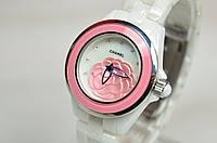 Женские часы CHANEL j12 flower керамика, фото 1