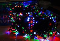 Новогодняя Гирлянда Нить Многоцветная на Елку 500 Лампочек Мульти