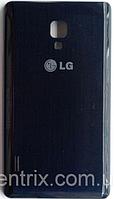 Задняя крышка для LG P715 Optimus L7 II, черная