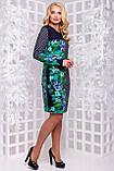 Привлекательное Демисезонное платье с ярким цветочным принтом 50-56р, фото 4