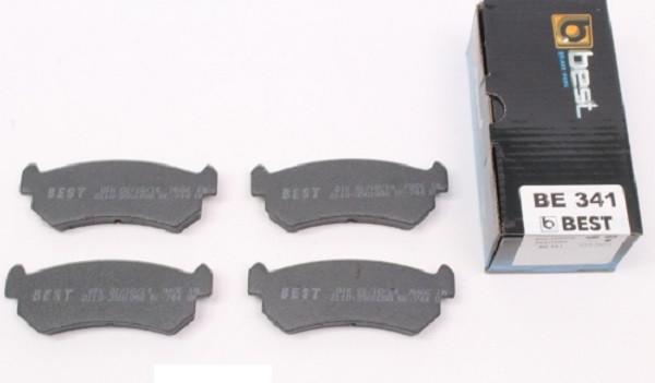BEST be341 Тормозные колодки (задние) CHEVROLET 96405131, DAEWOO 96405131