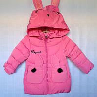 Детская утеплённая куртка для девочки оптом 3-6 лет , фото 1