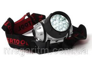 Фонарь налобный светодиодный INTERTOOL LB-0301