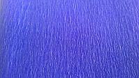 Бумага крепированная синяя, фото 1