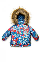 "Куртка зимова для хлопчика ""Boom!"", Модный карапуз"