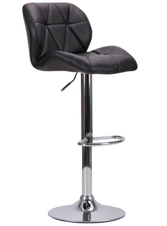 Барный стул Vensan черный без канта