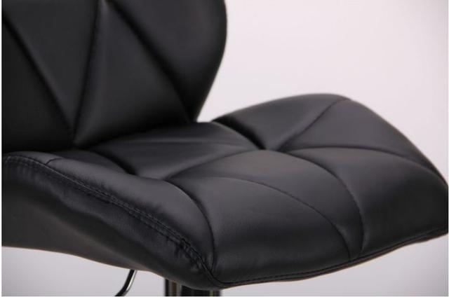 Барный стул Vensan черный без канта (фото 7)