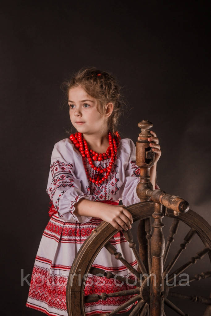 Костюм  шикарной украиночки, национальный костюм