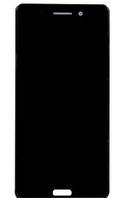 Дисплей (экран) для Nokia 6 TA-1033/Dual Sim TA-1021 + тачскрин, черный, оригинал
