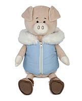 Свин Дэн в спортивной жилетке, 28 см Maxi Toys (MT-MRT031812-28), фото 1