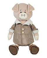 Свин Дюк в дубленке, 28 см Maxi Toys (MT-MRT031810-28), фото 1
