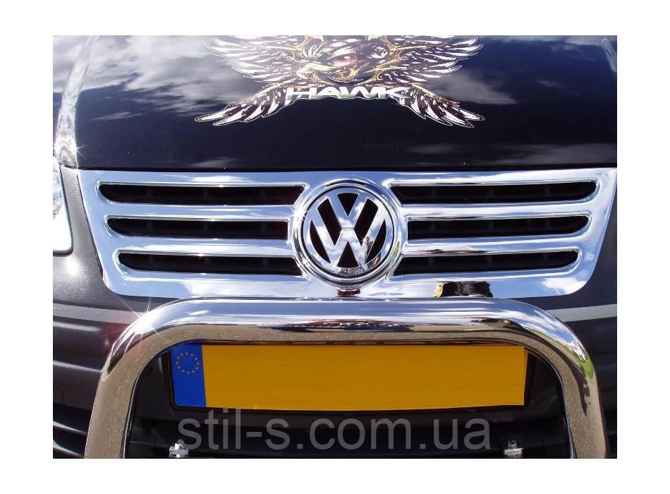 Накладка на решетку радиатора VW CADDY (2004-2009)