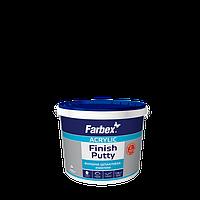 """Шпатлевка акриловая финишная ТМ """"Farbex"""" белая - 1,5 кг."""