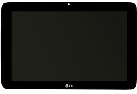 Дисплей (экран) для LG V700 G Pad 10.1 + тачскрин, черный, оригинал, фото 1