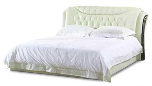 Ліжко з м'якою спинкою з підйомним механізмом Вікторія (160 х 200) КІМ