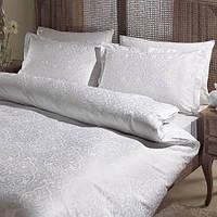 Постельное белье жаккард 100% хлопок, Gardenia beyaz, Евро размер
