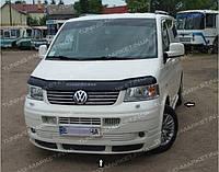 Накладка на передний бампер Volkswagen T5, Губа Т5