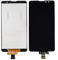 Дисплей (экран) для LG K520 Stylus 2 + тачскрин, черный