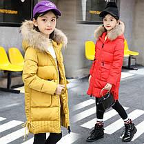 Зимнее пальто для девочек, фото 2