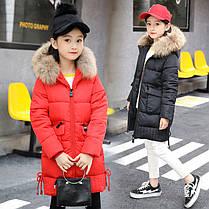 Зимнее пальто для девочек, фото 3