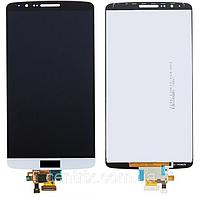 Дисплей (экран) для LG D855 G3, D858, D859 + тачскрин, белый, оригинал