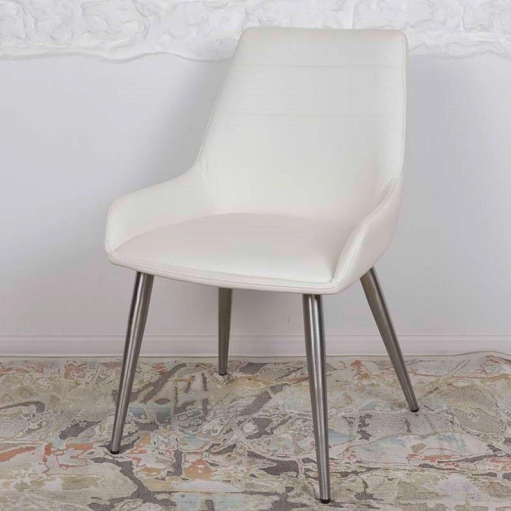 Virginia (Вирджиния) стул кожзам белый
