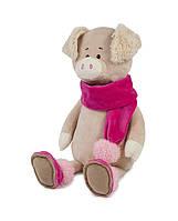 Свинка Ася в шарфике, 20 см Maxi Toys (MT-MRT031813-20), фото 1