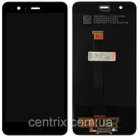 Дисплей (екран) для Huawei P10 Plus (VKY-L29) + тачскрін, колір чорний