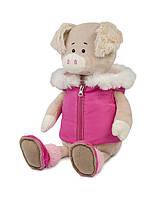Свинка Ася в спортивной жилетке, 20 см Maxi Toys (MT-MRT031815-20), фото 1