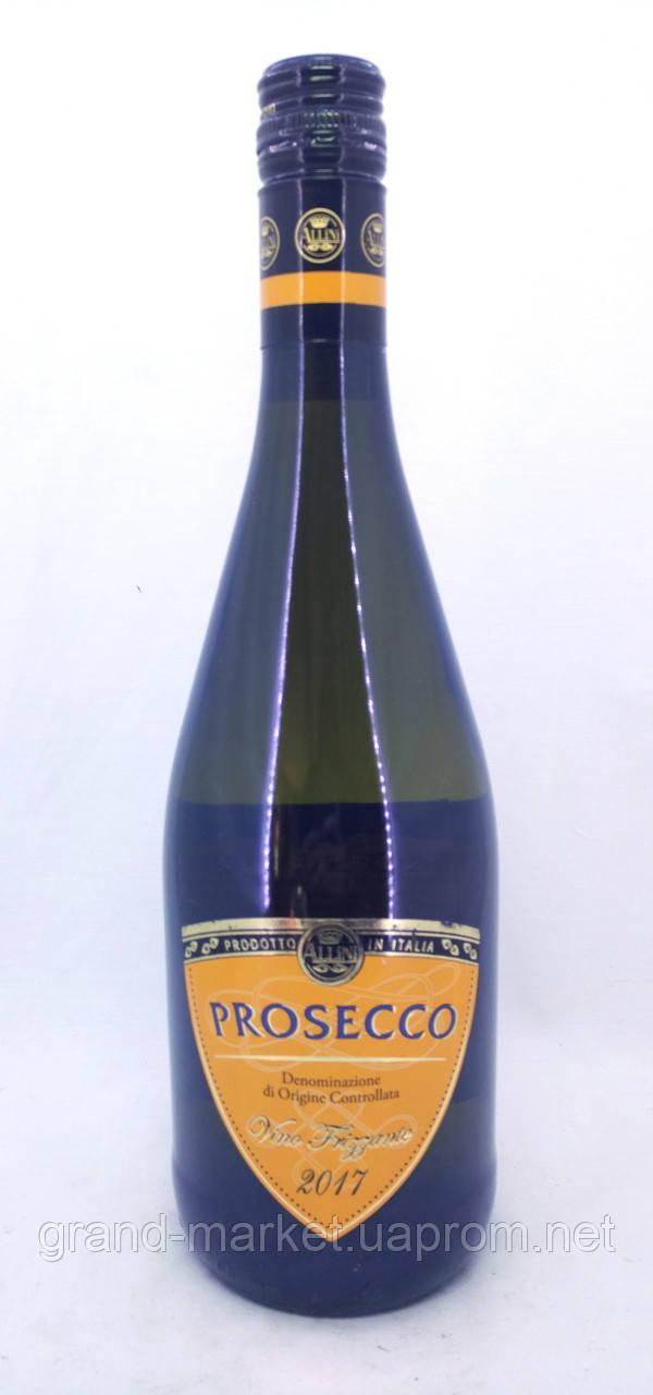 """Вино ігристе """"Prosecco Allini Vino Frizzante"""" 0.75 l"""