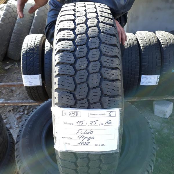 Бусовские шины б.у. / резина бу 195.75.r16с Fulda Conveo Trac Фулда