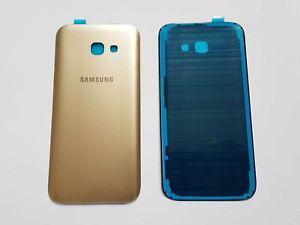 Задняя крышка для смартфона Samsung A520F Galaxy A5 (2017) золотого цвета