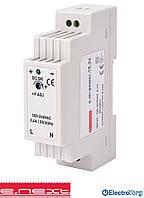 Блок питания  на DIN-рейку e.m-power.15.24 15Вт, DC24В  E.NEXT(Енекст)