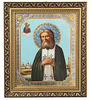 Икона «Святой Преподобный Серафим Саровский» арт. 147