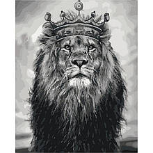Картина за номерами Король Лев