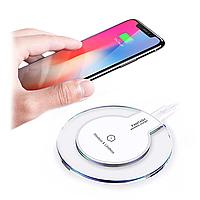 Беспроводное зарядное Fantasy Qi Wireless Charger White (5W), фото 1
