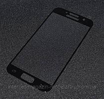 Защитное стекло Glass Screen Protector Samsung A320/A3 Full чорное