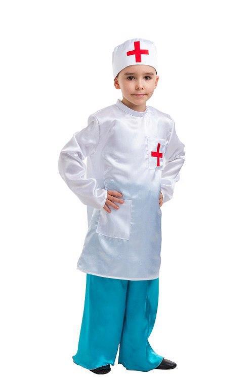 """Детский карнавальный костюм """"Доктор Айболит"""" для мальчика"""
