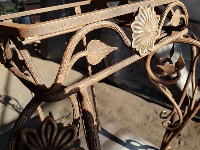 Кованый стол ручной работы  2